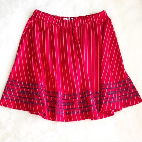 THML Dresses & Skirts - THML • Red Swing Skirt